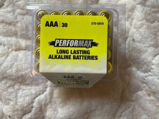 30 ct AAA batteries
