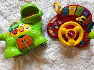 2 sound learning toys