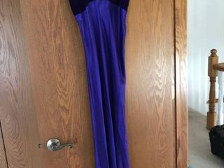 Purple formal dress size 7 8