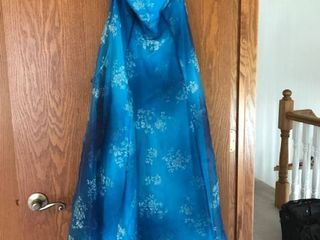 blue formal dress size 3 4