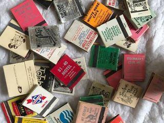 approx 25 matchbooks