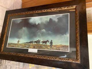 Don Griffiths signed and numbered print in beautiful frame