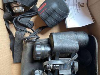 binoculars and range finder