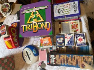 assorted game lot