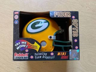 Green Bay fiberoptic mini helmet