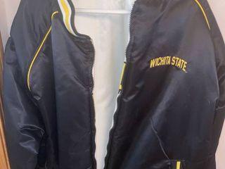 reversible Wichita state jacket