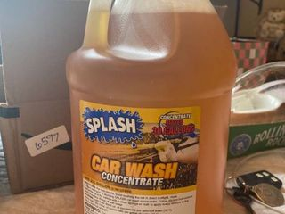 gallon of concentrated car wash