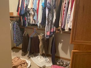 all womens clothes left in upstairs closet