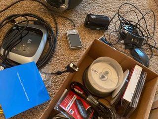 assorted electronics   digital cameras  boom box