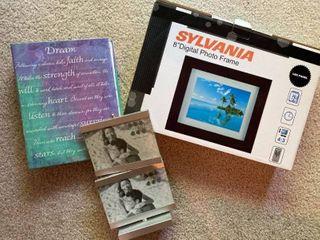 Digital photo frame  duo frame  and photo album