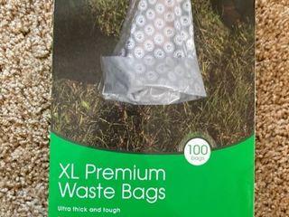 100 pet waste bags