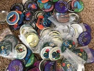 Wichita Riverfest Buttons