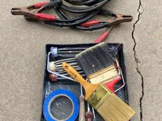painters items and jumper cables