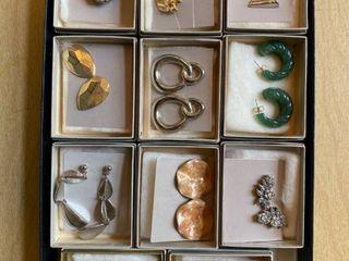 11 pairs Avon earrings