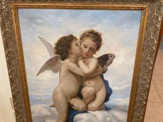 large Angel painting