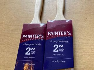 2 ct 2 inch paint brushes