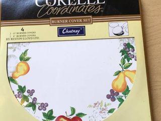Corelle Coordinates burner covers 4ct