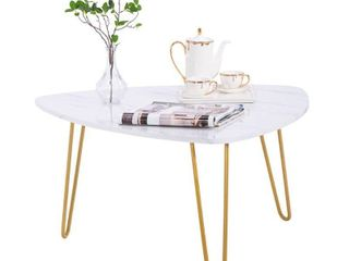 Household Marble Iron Feet Coffee Table Storage Cabinet Side 2 Sets Retail:$222.49