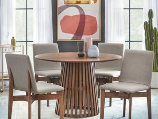 (2)Lifestorey Pavia Dining Chairs Retail:$715.49(Table NOT Included)