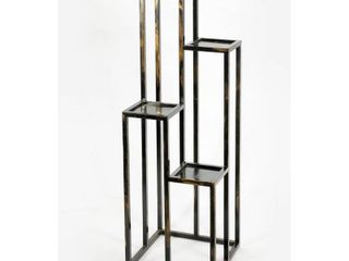 47 25  4 TIER CAST IRON PlANT STAND