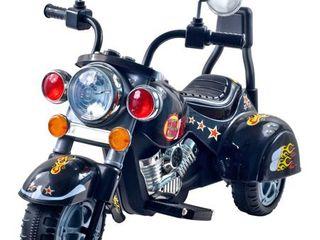 lil  Rider Road Warrior Motorcycle   Black