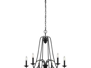 Feiss Boughton F3205/6AF Chandelier