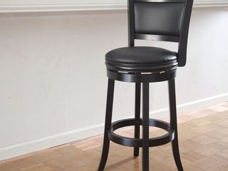 Boraam Augusta 29  Swivel Bar Stool  1    Black