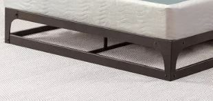 "ONETAN, 8"" Easy Wood Box Spring with Simple Assembly for Full Mattress Retail:$104.99"
