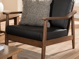 Mid-century Lounge Chair by Baxton Studio - Retail:$262.49