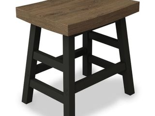 Carbon Loft Lawrence Reclaimed Wood and Metal Counter Stool Retail:$133.49