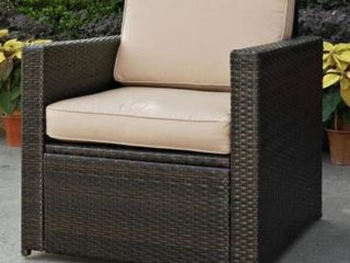 Jackson Furniture Brown Wicker Patio Chair