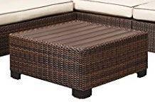 Jackson Furniture Wicker Table/Footstool