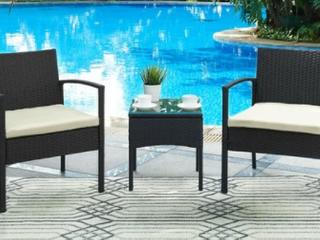 DG Casa San Juan 2 Chairs and Table Set