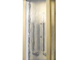 Charleston 2-light Antique Brass Outdoor Wall Light Retail:$262.67