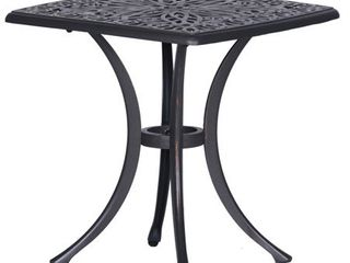 Havenside Home Saybrook Cast Aluminum End Table Retail:$137.99