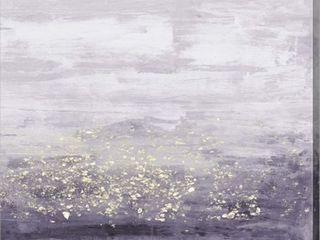 Jennifer Goldberger 'Amethyst Glitter' Canvas Art Retail:$88.49