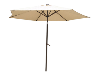 International Caravan St  Kitts 8 foot All Weaether Crank and Tilt Patio Umbrella