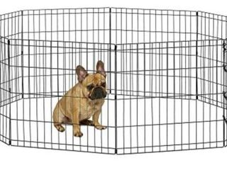 World Pet Products Foldable Metal Exercise Pen Amp  Pet Playpen Dog not included