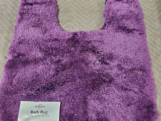 "Mohawk Home Royal Bath Rug Purple, 1'9""x2', Purple"