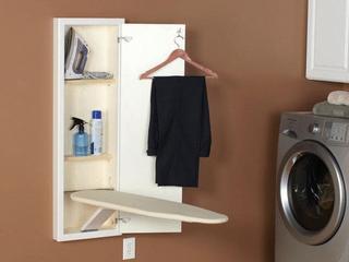 Household Essentials StowAway InWall Ironing Board White