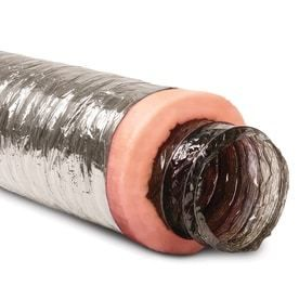 IMPERIAl 6 in x 25 ft Insulated Polyester Flexible Duct