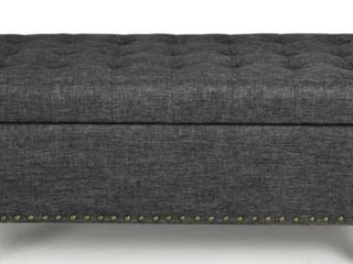 Home Life Lift Top Ottoman Storage Bench