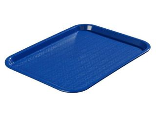 "Carlisle Cafe Tray Blue Polypropylene Basketweave -18""L x 14""W (CT141814)"
