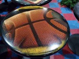 30in Baseketball Themed Table