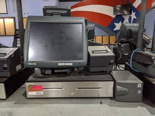 Micros POS System Workstation 5A System Unit Product Code 400814 103