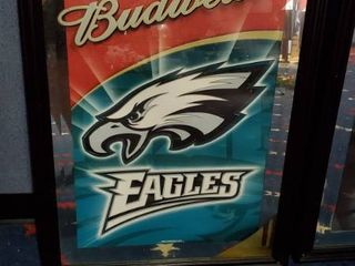 23in x 31in Budweiser Philadelphia Eagles Picture