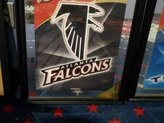 23in x 31in Budweiser Atlanta Falcons Picture