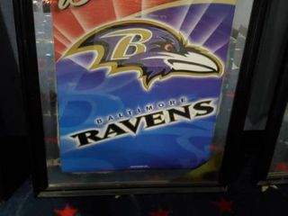 23in x 31in Budweiser Baltimore Ravens Picture