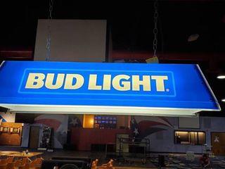 Bud light Plastic Pool Table light
