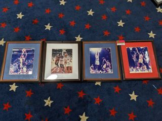 Assorted Basketball Framed Posters